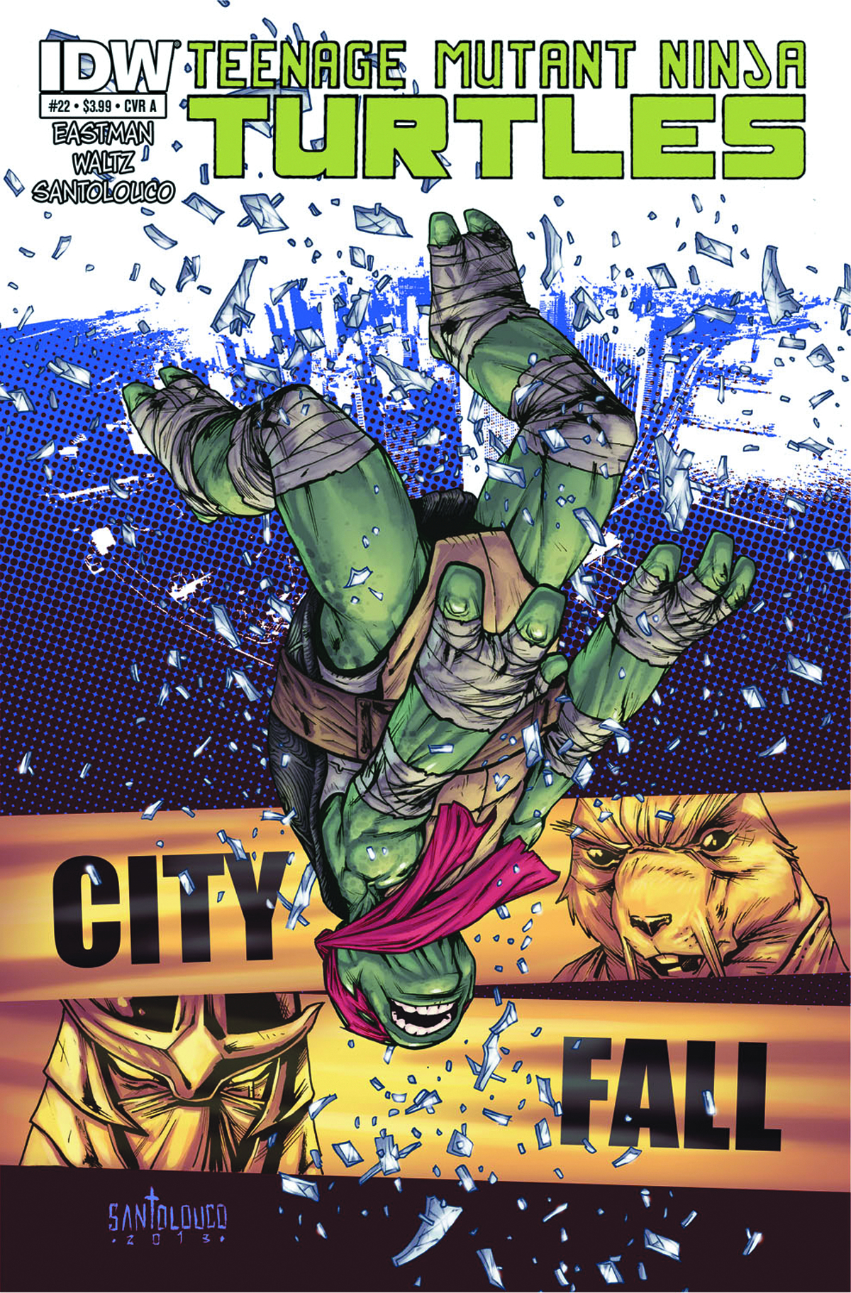 (USE APR138130) TMNT ONGOING #22