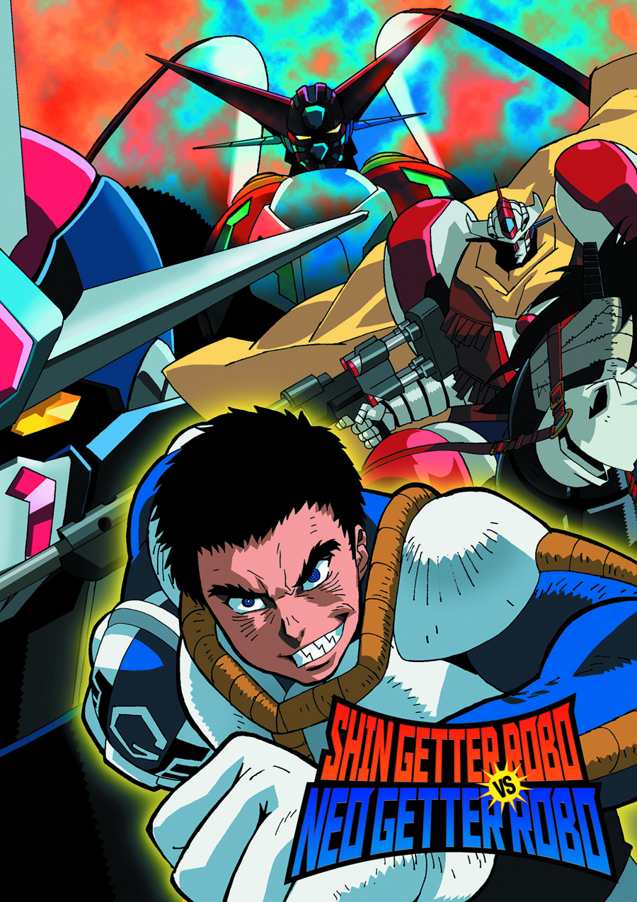 SHIN GETTER ROBO VS NEO GETTER ROBO DVD