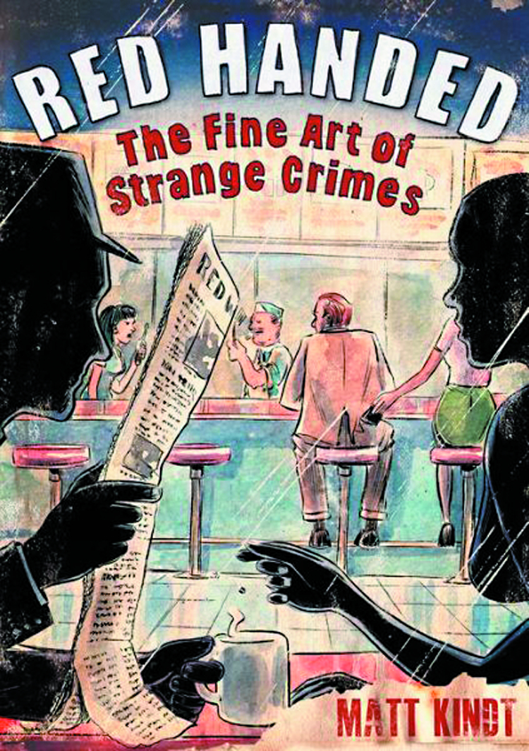 RED HANDED FINE ART STRANGE CRIMES HC