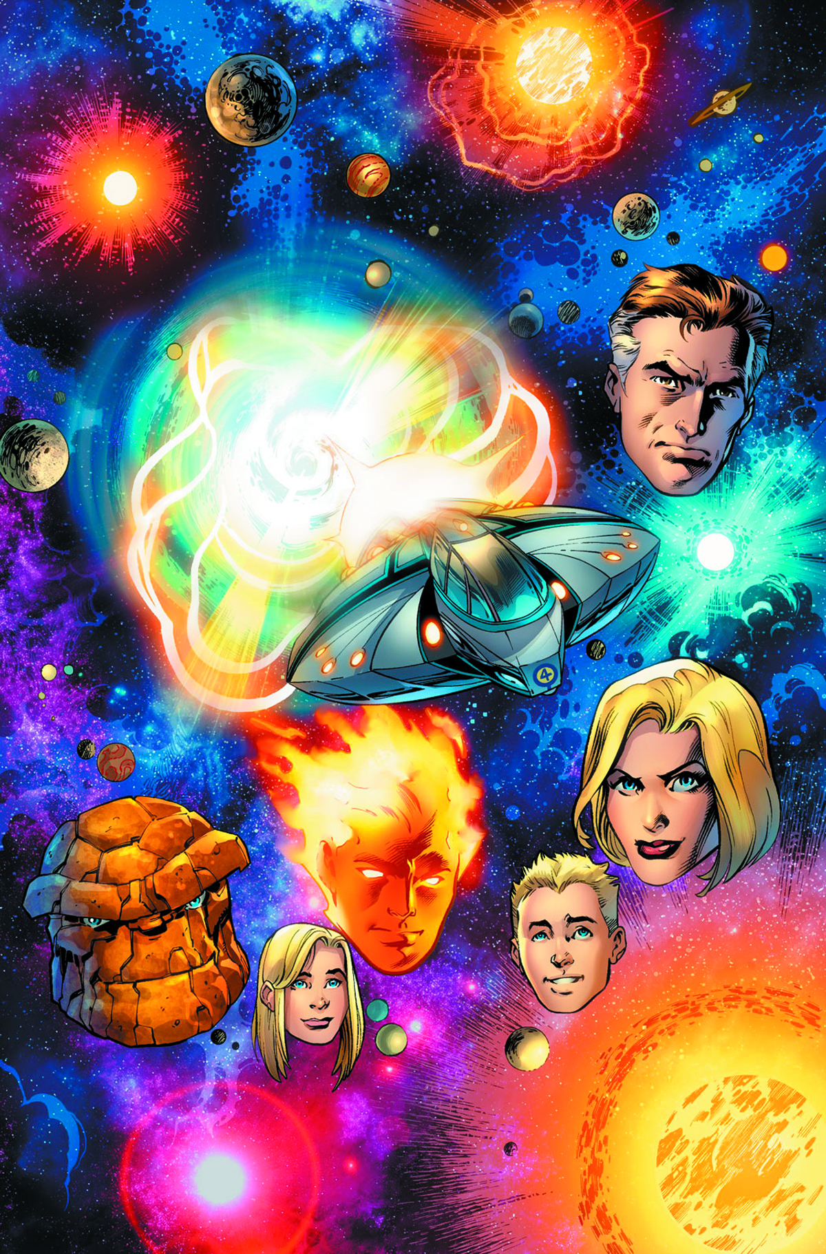 FANTASTIC FOUR #2 2ND PTG BAGLEY VAR NOW