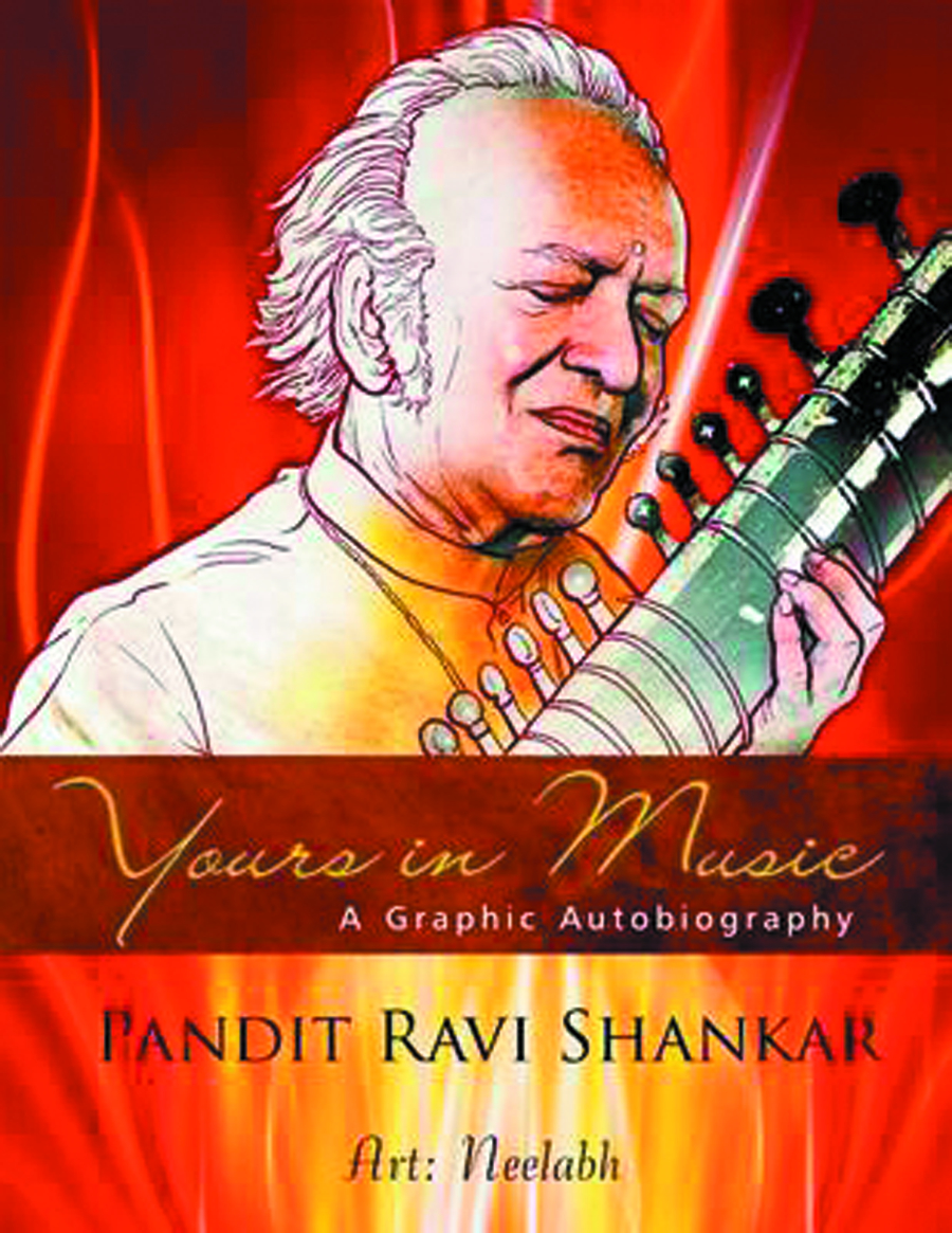 YOURS IN MUSIC AUTOBIO RAVI SHANKAR GN
