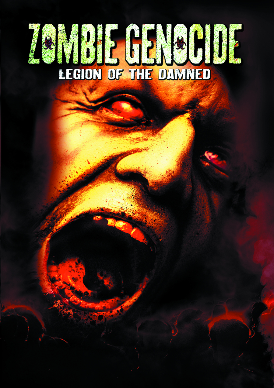 ZOMBIE GENOCIDE LEGION OF THE DAMNED DVD