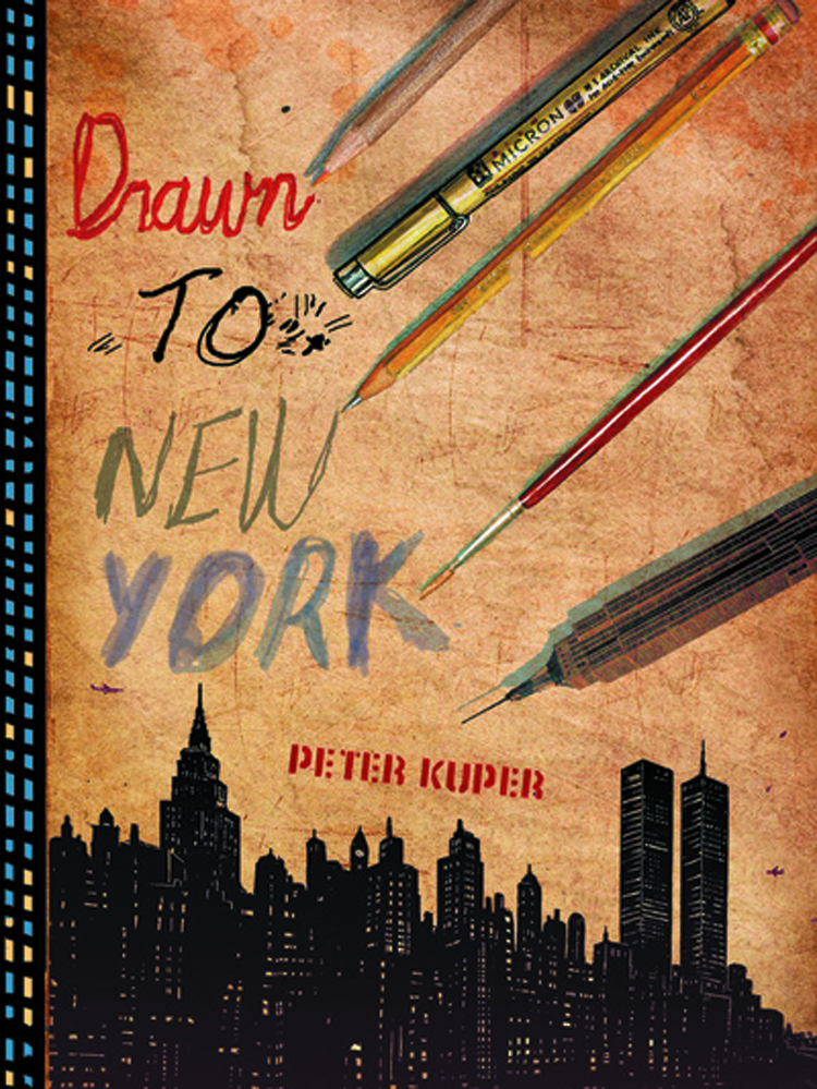 DRAWN TO NEW YORK ILLUS CHRON OF 3 DECADES IN NYC