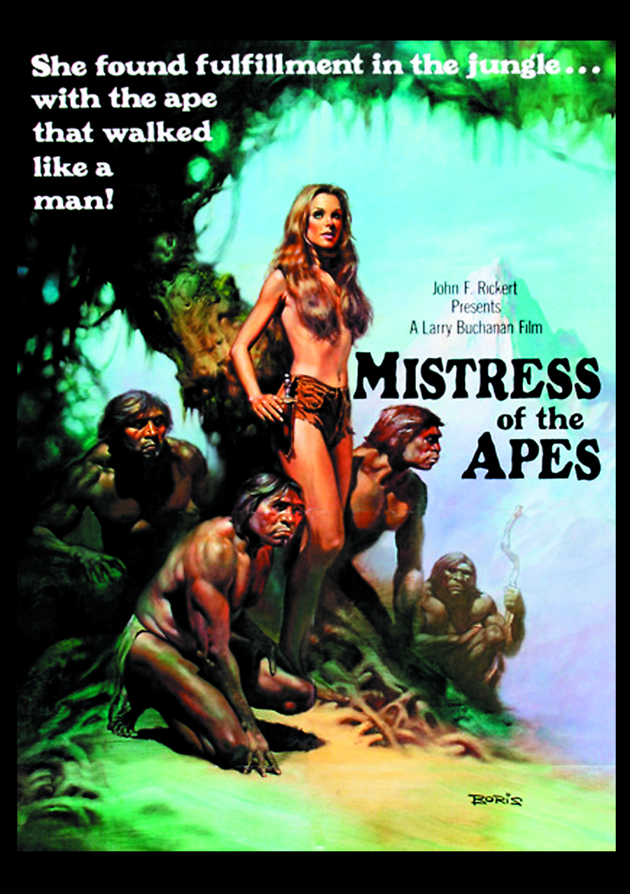 MISTRESS OF THE APES DVD
