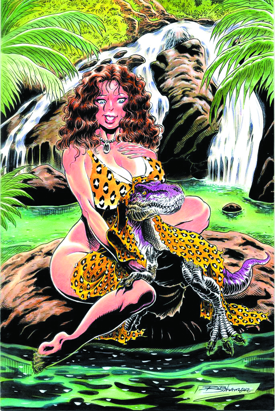 CAVEWOMAN UNCOVERED PINUP BOOK