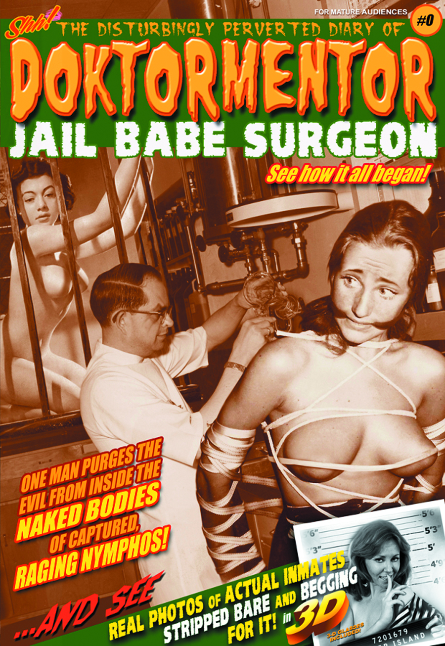 DPD DOKTORMENTOR JAIL BABE SURGEON #0 ORIGIN SPECIAL