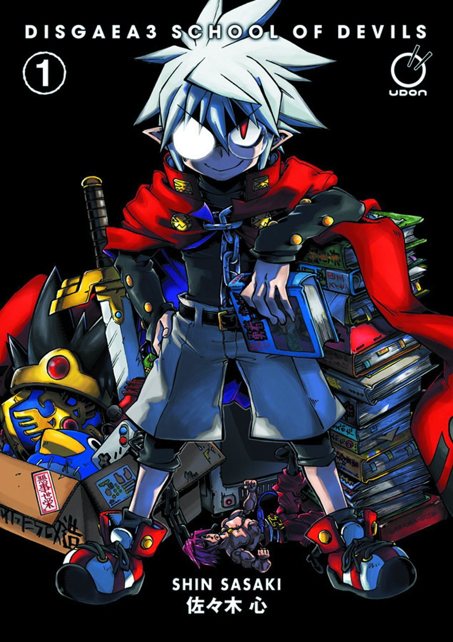 DISGAEA 3 SCHOOL OF DEVILS GN VOL 01