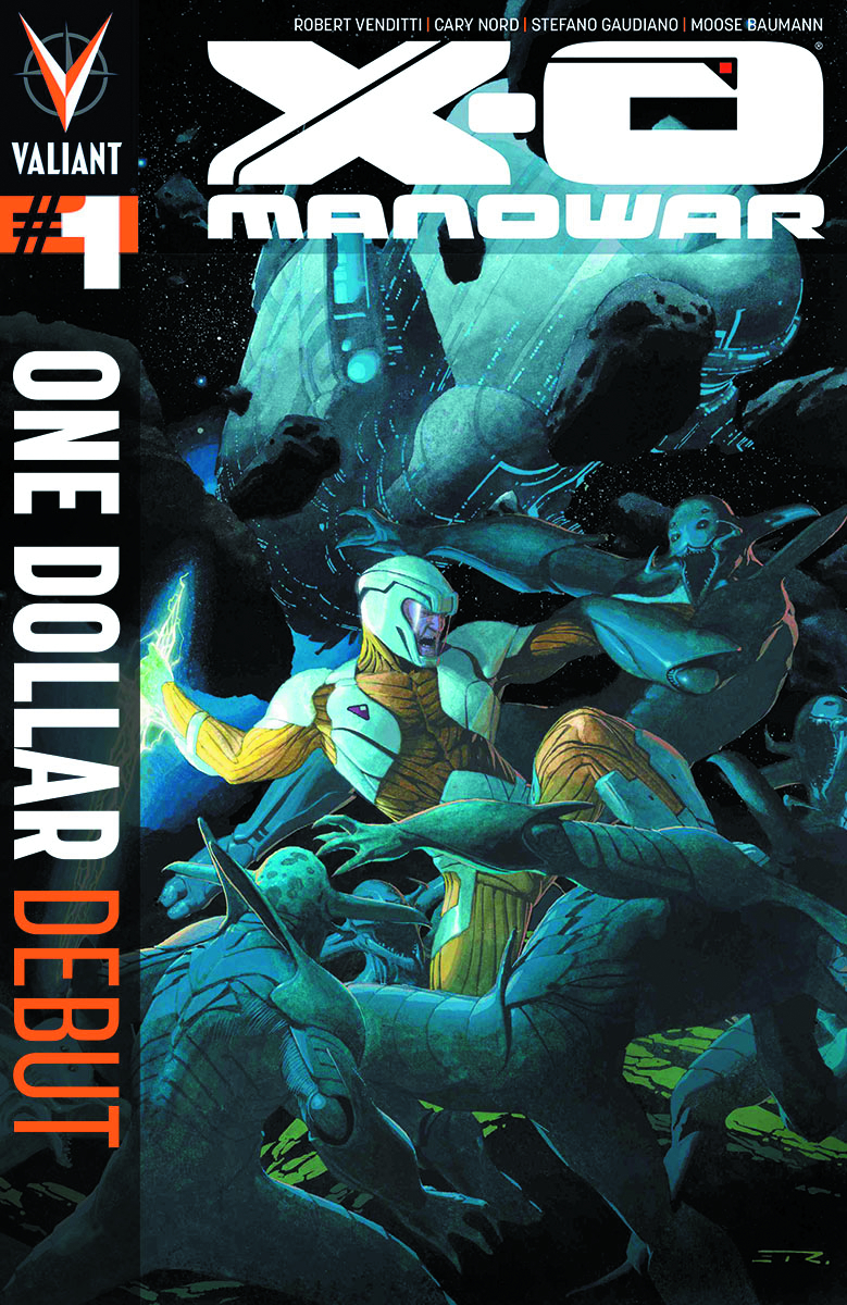 X-O MANOWAR #1 ONE DOLLAR DEBUT ED