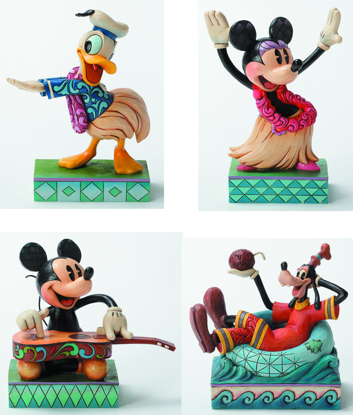 DISNEY TRADITIONS HAWAIIAN HOLIDAY PPK ASST
