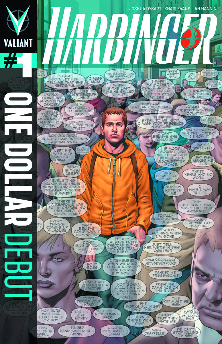 HARBINGER #1 ONE DOLLAR DEBUT ED