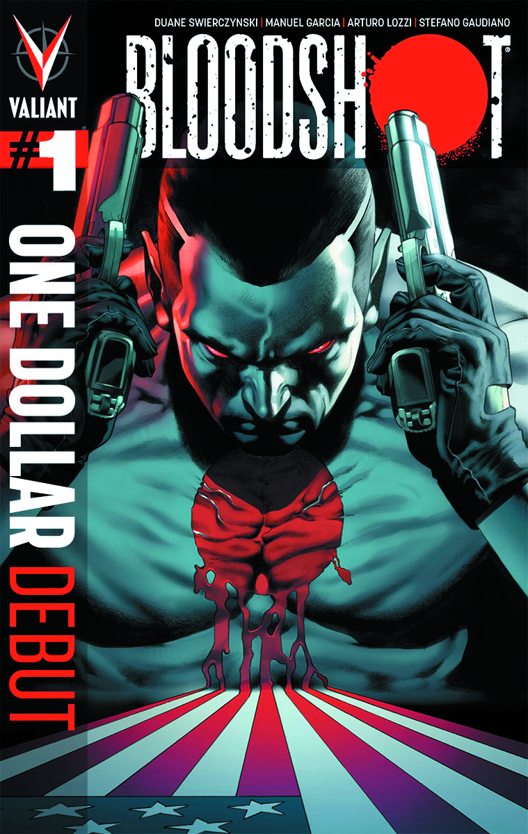 BLOODSHOT #1 ONE DOLLAR DEBUT ED