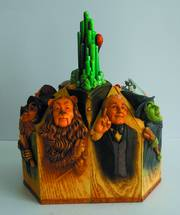 DISNEY TRADITIONS WIZARD OF OZ PILLAR SET