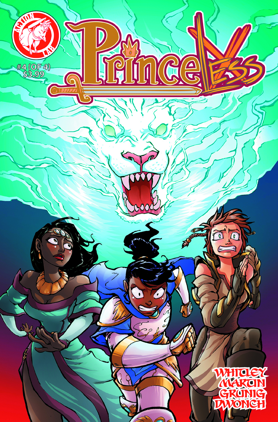 PRINCELESS VOL 2 #4