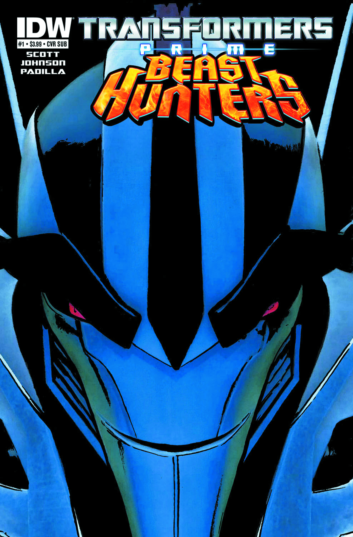 TRANSFORMERS PRIME BEAST HUNTERS #1 SUBSCRIPTION VAR