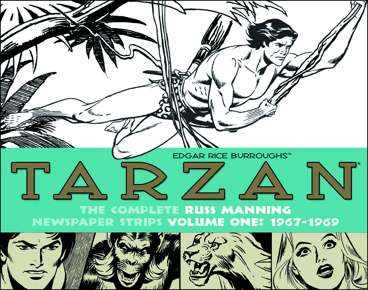 TARZAN RUSS MANNING NEWSPAPER STRIPS HC VOL 01 1967-1970