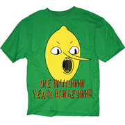 ADVENTURE TIME ONE MILLION PX GREEN T/S SM