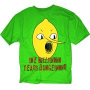 ADVENTURE TIME ONE MILLION PX GREEN T/S XXL