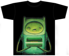 ADVENTURE TIME THE PODS PX BLK T/S LG