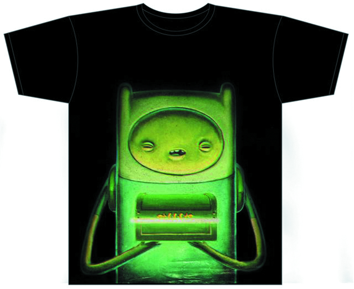 ADVENTURE TIME THE PODS PX BLK T/S XL