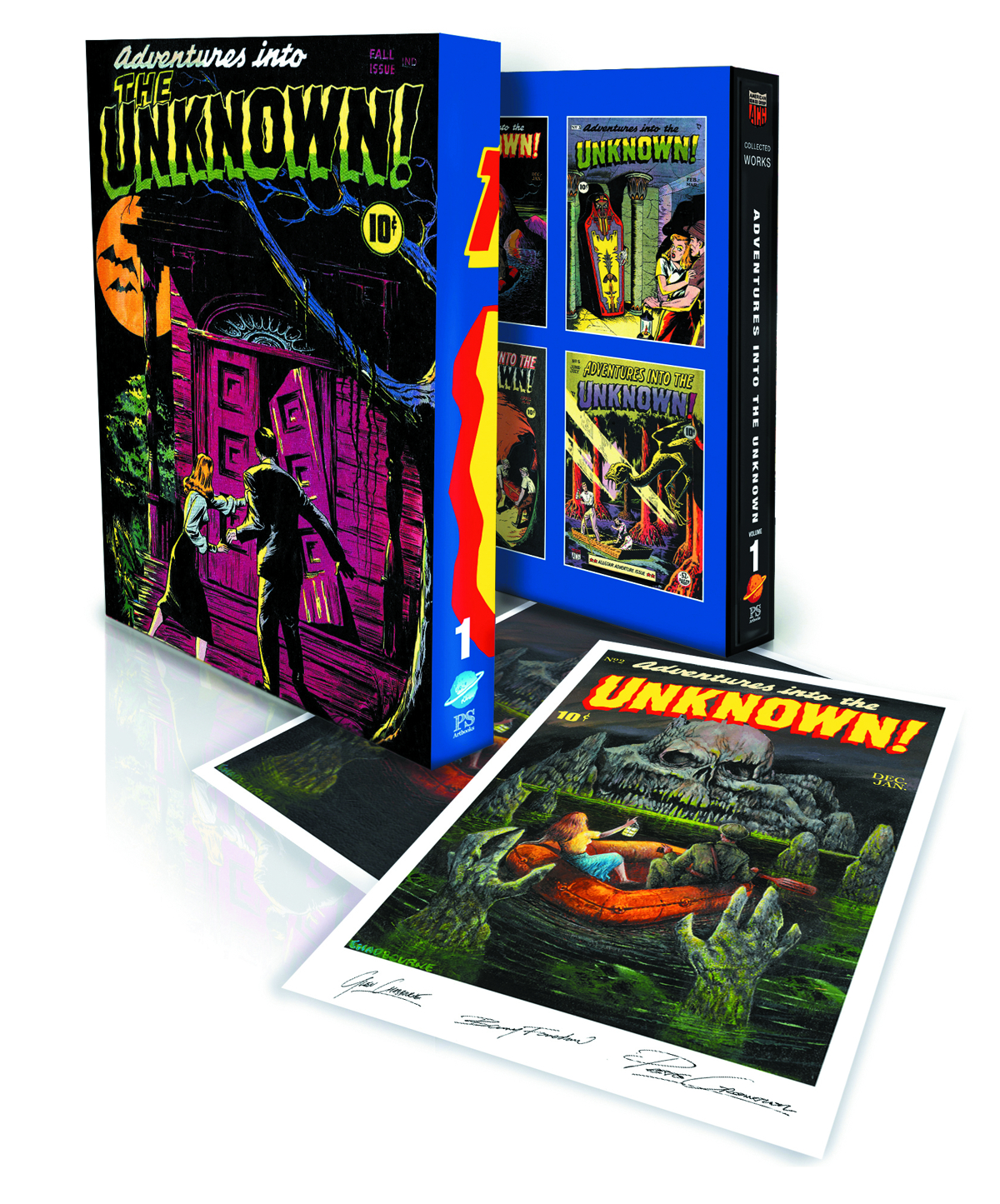 ACG COLL WORKS ADV INTO UNKNOWN SLIPCASE ED VOL 01