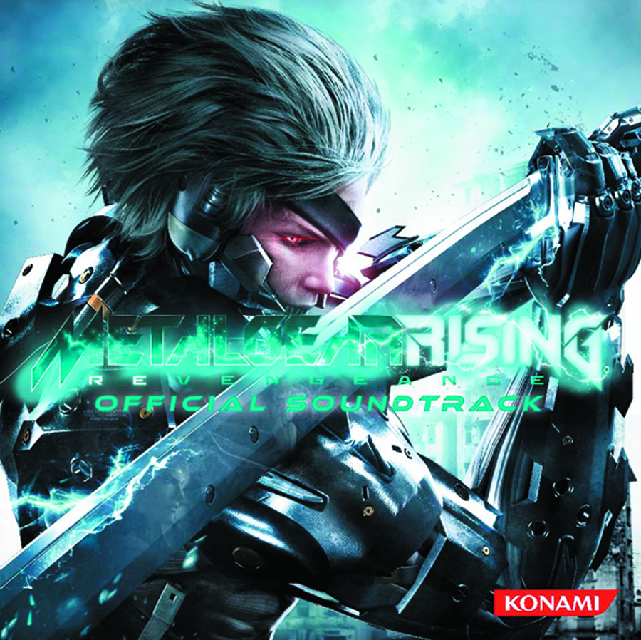 METAL GEAR RISING OST CD