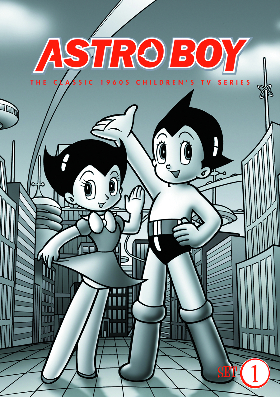 ASTRO BOY DVD MINI SET 01