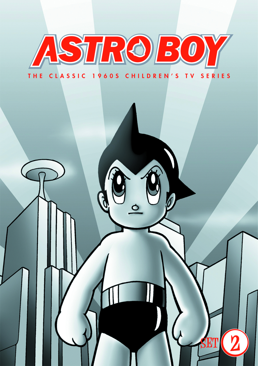 ASTRO BOY DVD MINI SET 02