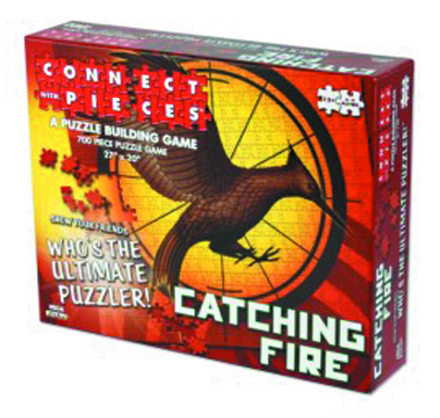 CATCHING FIRE CONNECT WITH PIECES PUZZLE BUILDING GAME