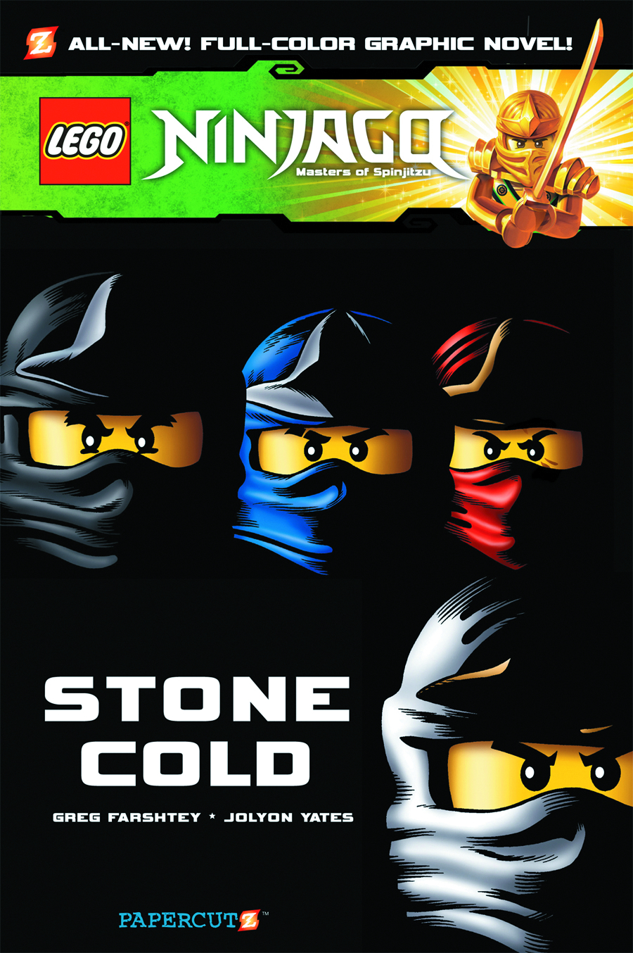 NINJAGO HC VOL 07 STONE COLD
