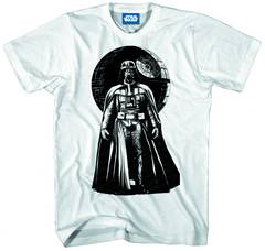STAR WARS VADER WORLD PX WHT T/S XL