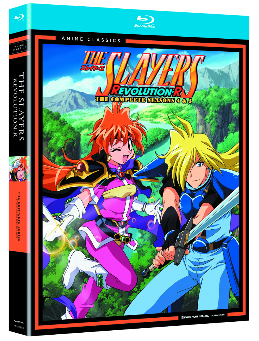 SLAYERS BD SEA 04 & 05