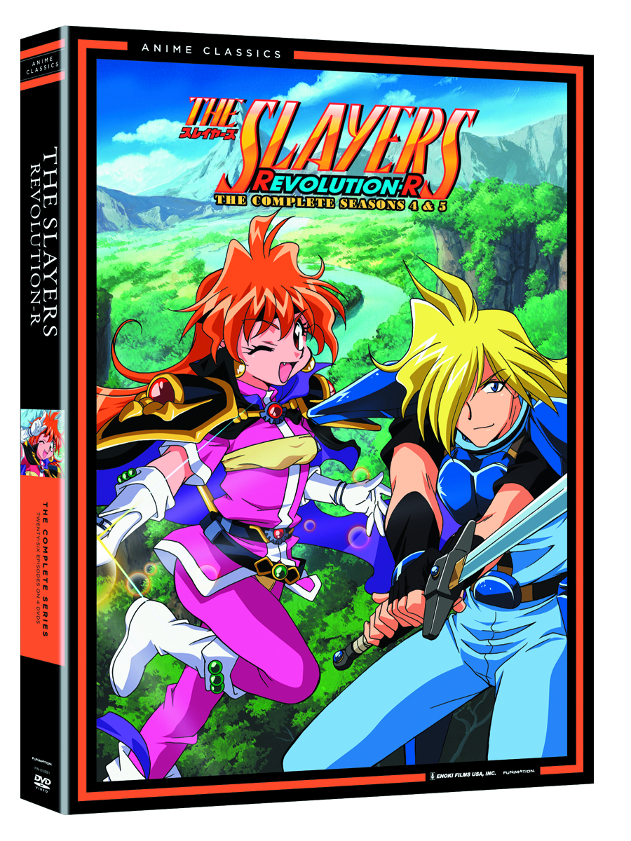 SLAYERS DVD SEA 04 & 05