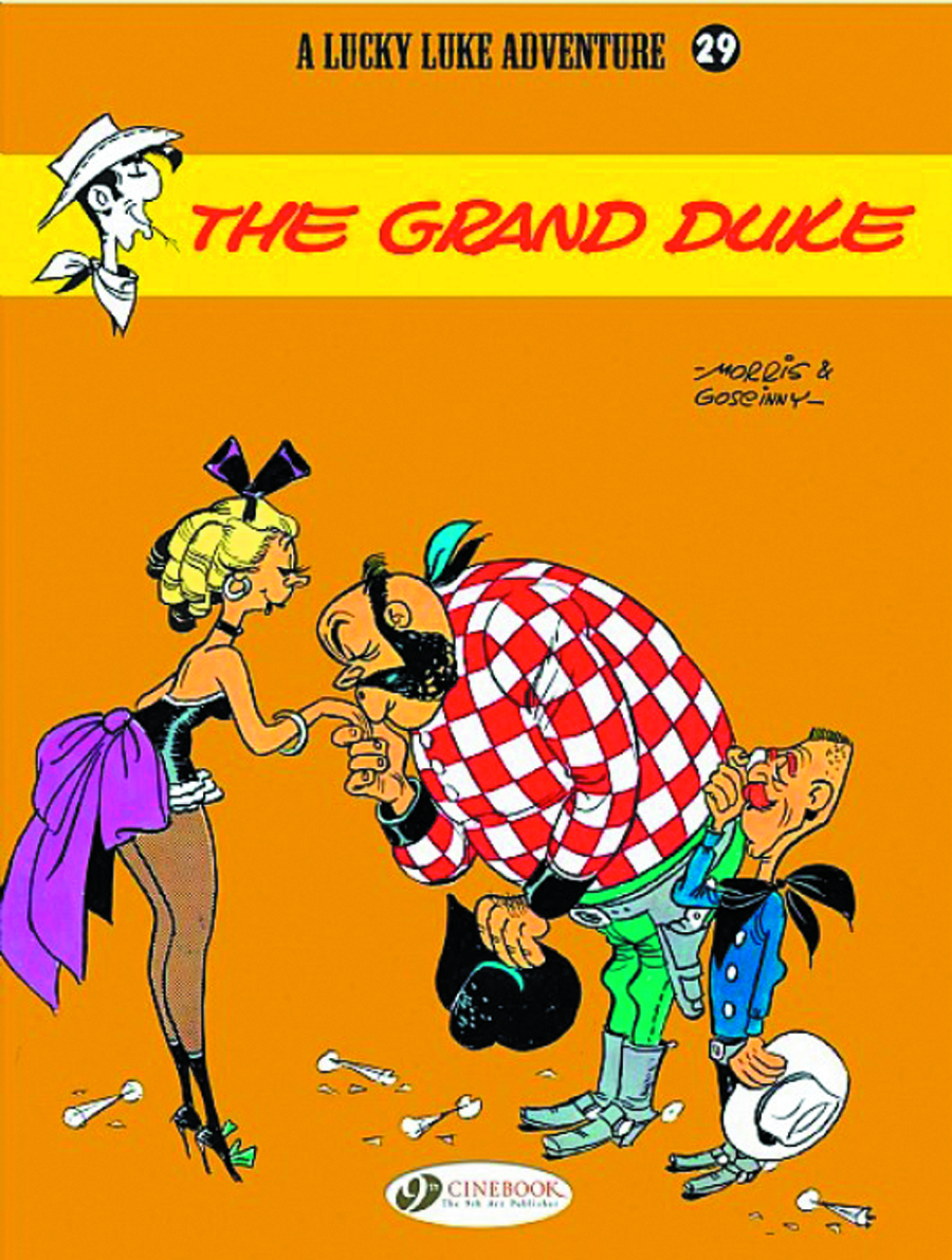 LUCKY LUKE TP VOL 29 GRAND DUKE