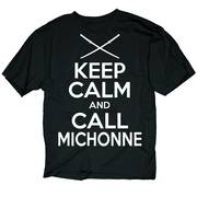 WALKING DEAD KC CALL MICHONNE PX BLK T/S LG
