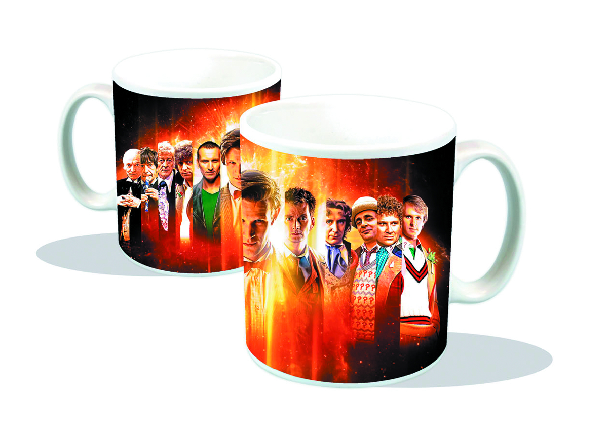 DOCTOR WHO ALL DOCTORS MUG