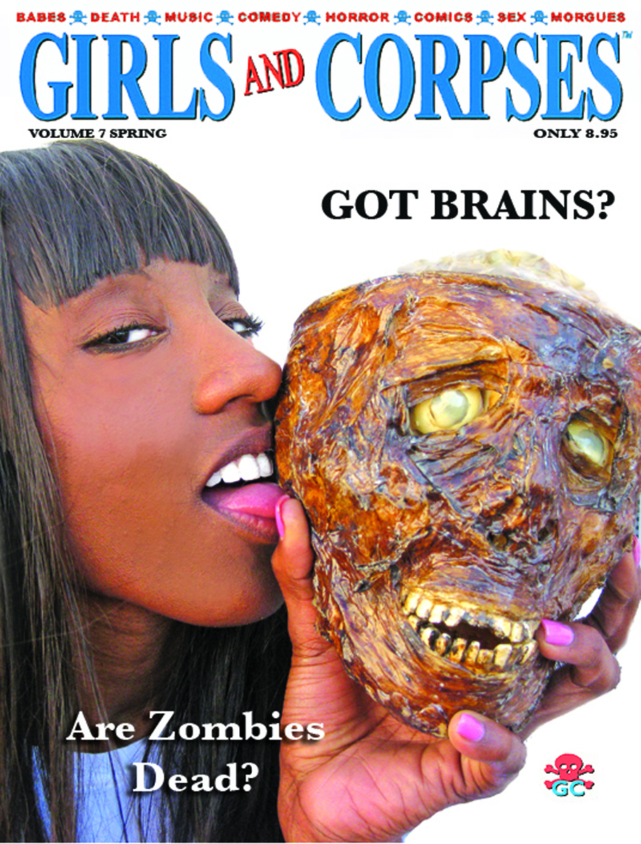 GIRLS AND CORPSES MAGAZINE SPRING 2013