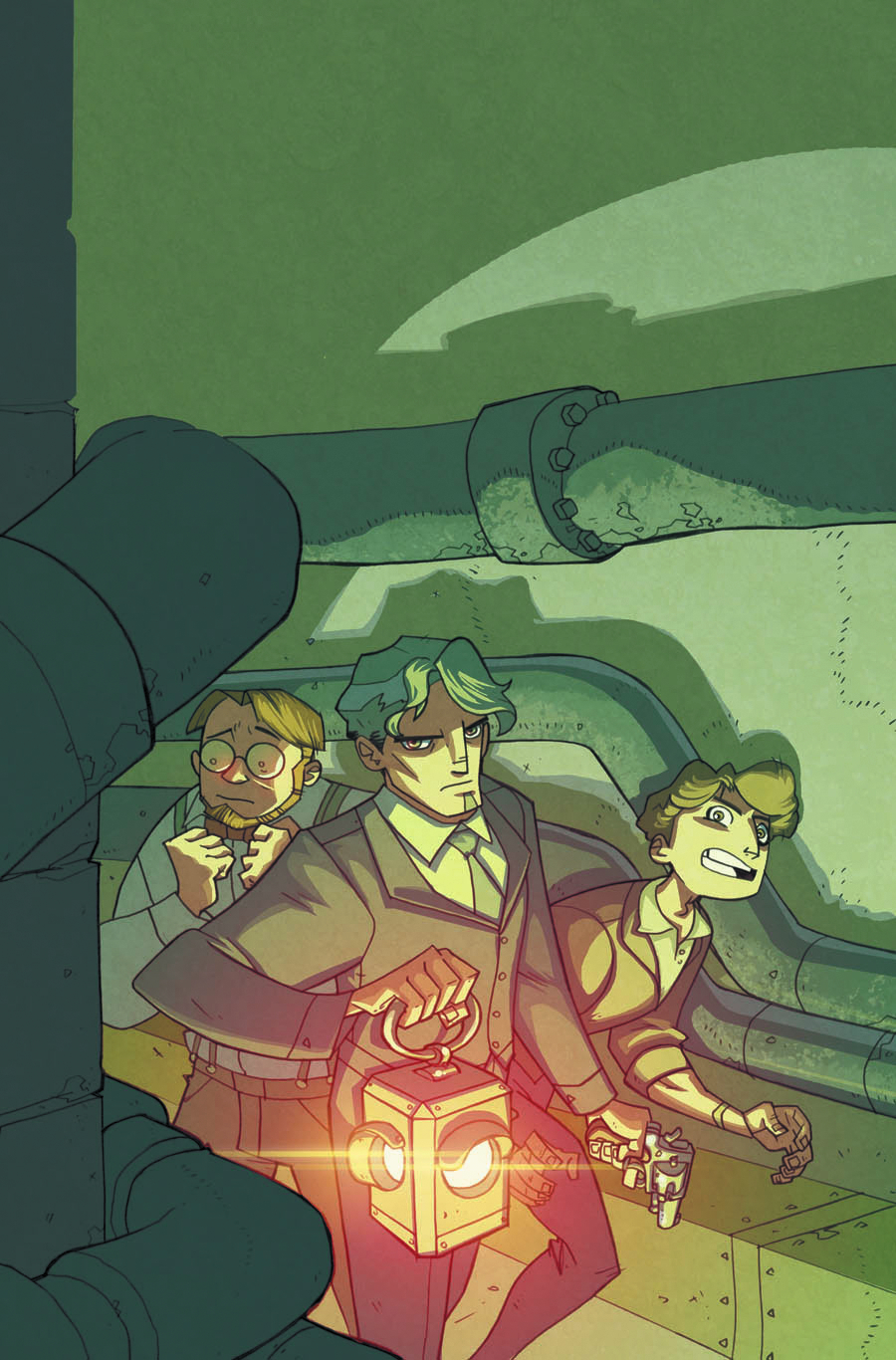 ATOMIC ROBO REAL SCIENCE ADV #9