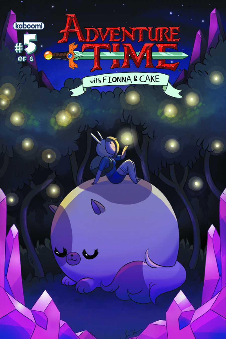 ADVENTURE TIME FIONNA & CAKE #5