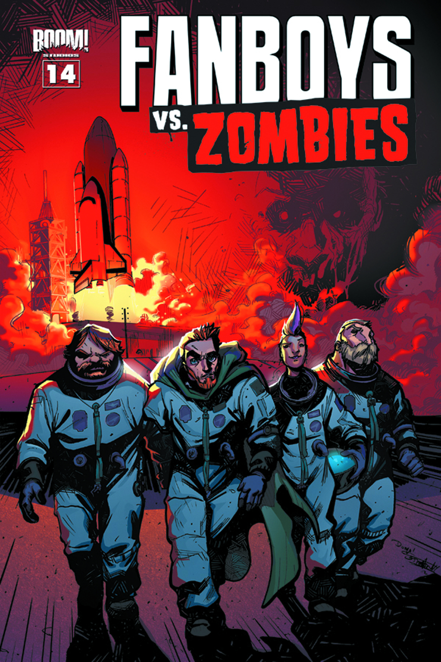 FANBOYS VS ZOMBIES #14
