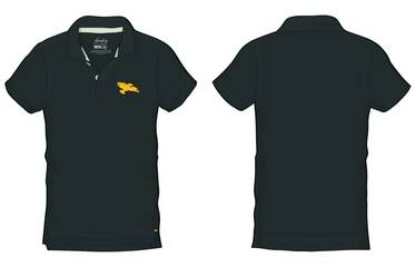 FIREFLY SERENITY SHIP PX BLK POLO MED