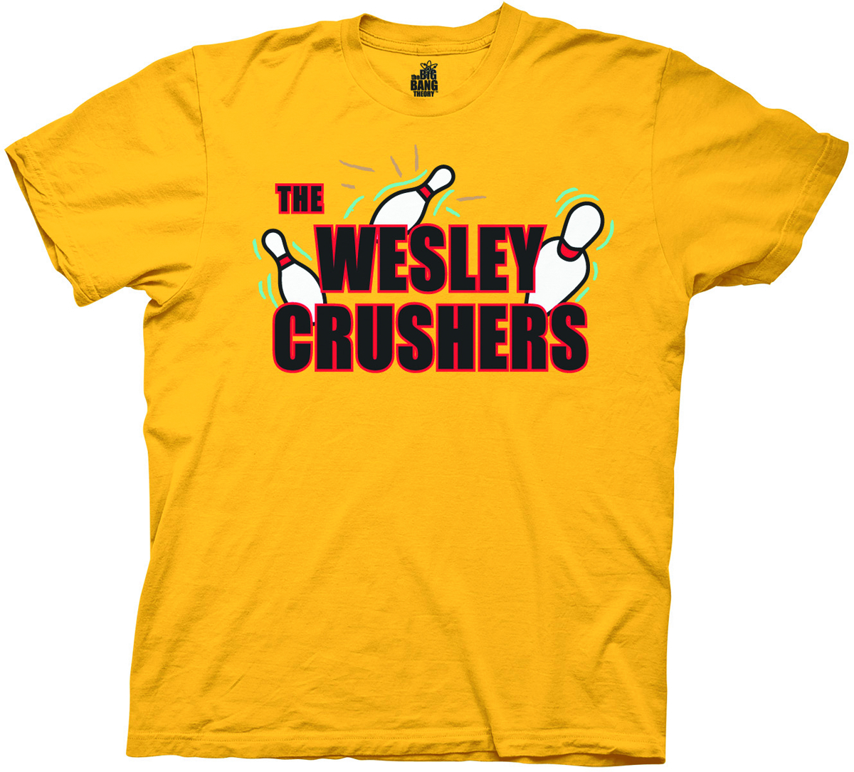 BBT WESLEY CRUSHERS YELLOW T/S LG