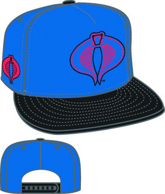 HERO NEON SIGN COBRA SYMBOL SNAPBACK CAP