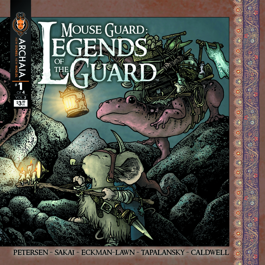 (USE DEC138306) MOUSE GUARD LEGENDS O/T GUARD VOL 2 #1