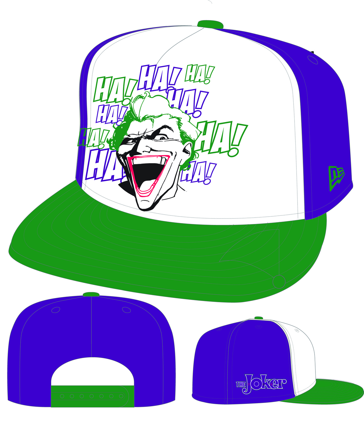 HERO NEON SIGN JOKER LOGO PX SNAPBACK CAP