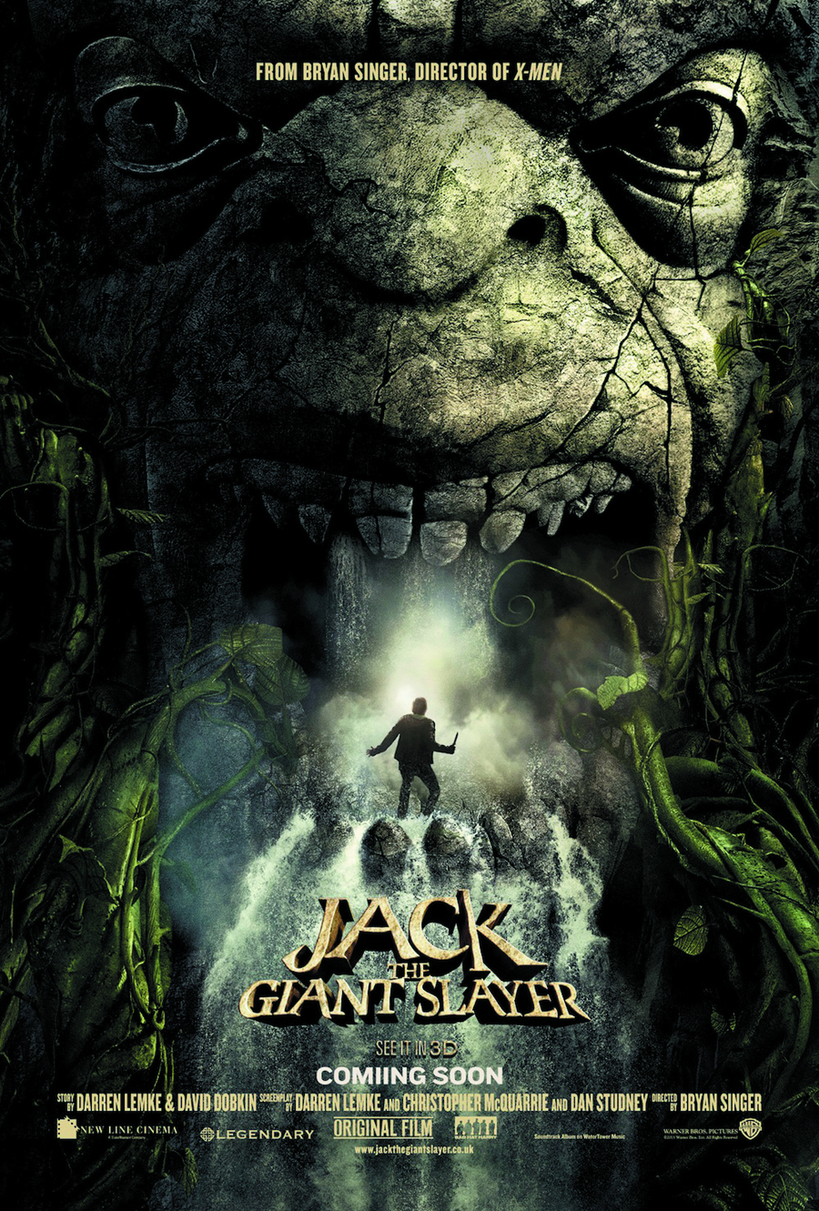 JACK THE GIANT SLAYER BD + DVD