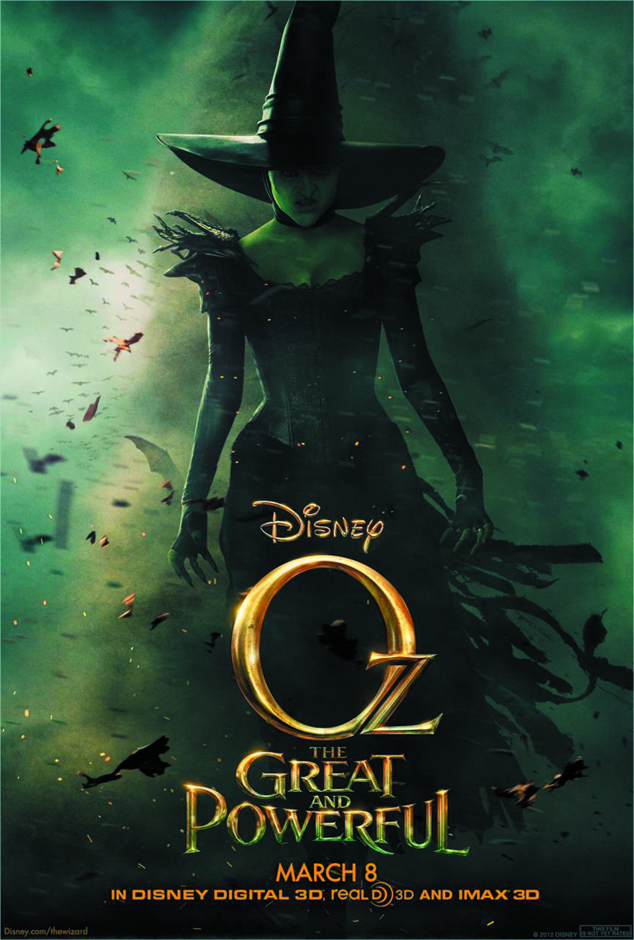 OZ THE GREAT AND POWERFUL BD + DVD