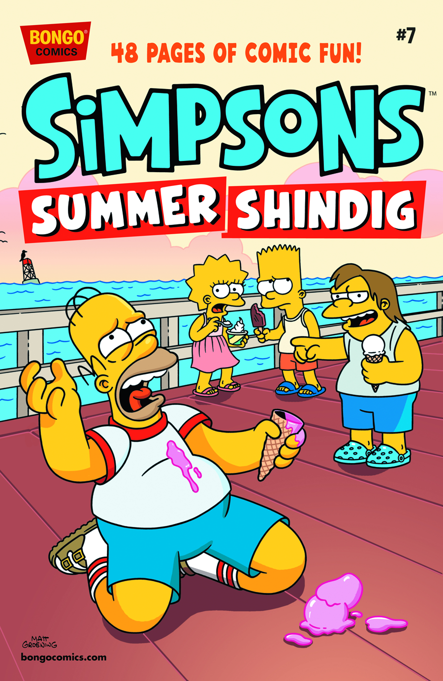 SIMPSONS SUMMER SHINDIG #7