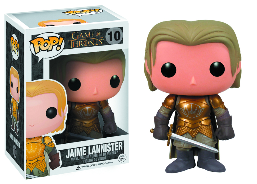 POP GAME OF THRONES SER 2 JAIME LANNISTER VINYL FIG