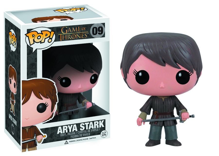 POP GAME OF THRONES SER 2 ARYA STARK VINYL FIG