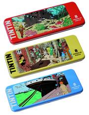 TINTIN WRECK OF THE UNICORN 8PC PENCIL SET